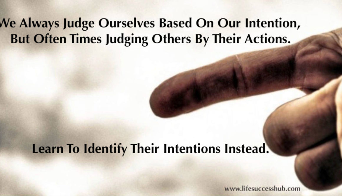 Learn To Identify Others' Intentions Instead.